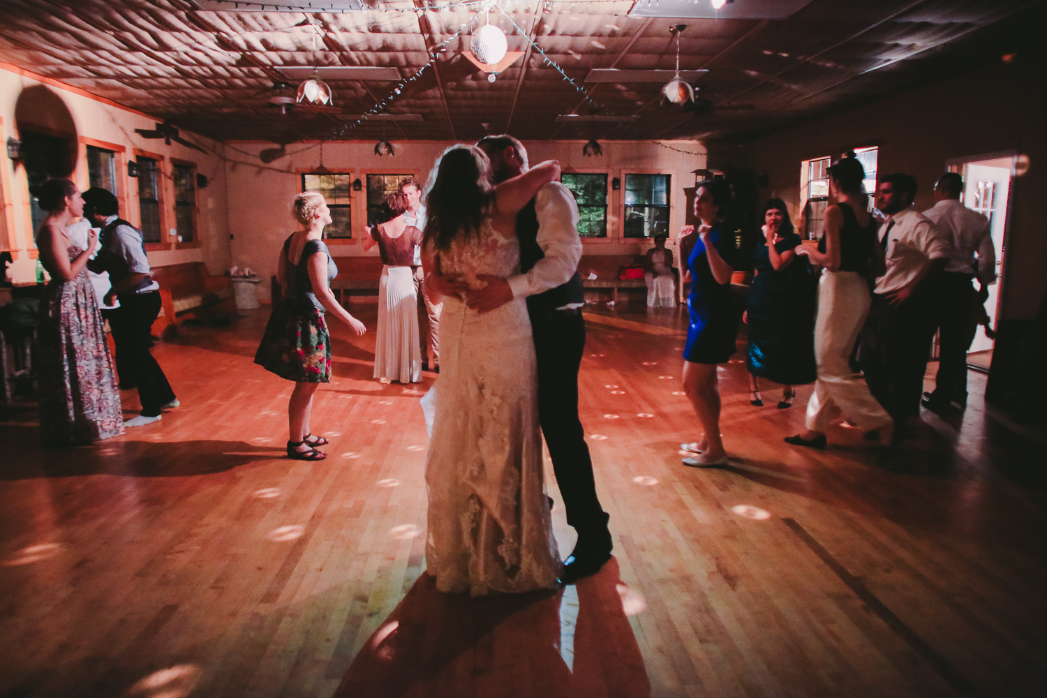 dancing the night away at Hidden Hollow Resort