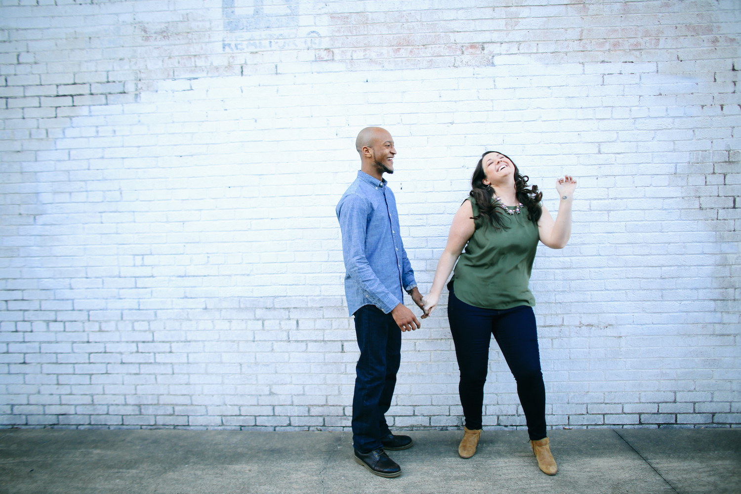 Our ampersand photographer taking pictures for their chattanooga engagement and wedding